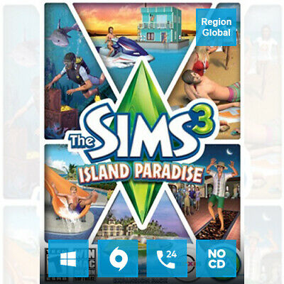 AU17.81 • Buy The Sims 3 Island Paradise Expansion Pack DLC For PC Game Origin Key Region Free