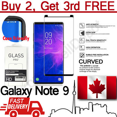 $ CDN5.99 • Buy Premium Case Friendly Tempered Glass Screen Protector For Samsung Galaxy Note 9