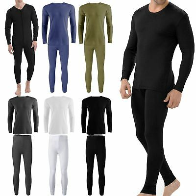 New Mens Thermals Full Sets Underwear Tops Long Johns Suit Base Layer All In One • 7.89£