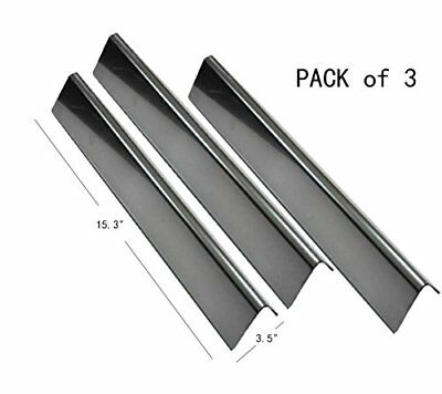 $ CDN38.21 • Buy Gas Grill 3 Flavorizer Bars Stainless Steel Plates BBQ Parts Weber Spirit E-210