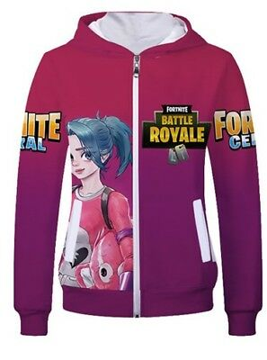 Unisex Fortnite Hoodie With Hat Sweatshirt Usahoo Ballersinfo Com