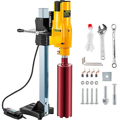 205mm Diamond Core Drill Wet & Vacuum Core Drilling Rig Stand & Drilling Bits • 179.89£