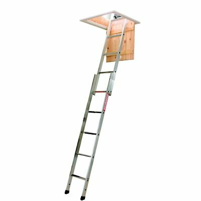 YOUNGMAN SPACEMAKER 2 Section Aluminium Sliding Loft Ladder 302340 NEW • 54.99£