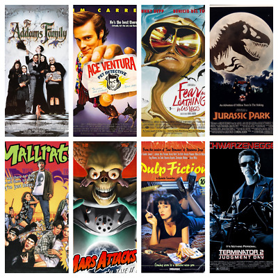 90s Movie Posters A4 Or A5 - 159 To Choose Classic Movies Art Films Mini Posters • 3.99£