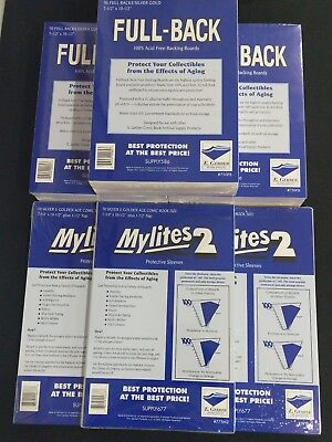 $85.25 • Buy 150 E. Gerber Mylites 2 775M2 And Full Backs 750 FB For Silver Golden Age Comics