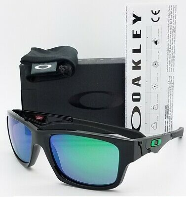 a5e4d4d6af NEW Oakley Jupiter Squared Sunglasses Black Jade Irid 9135-05 Green SQ  AUTHENTIC • 99.95