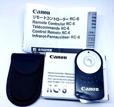 CANON RC-6 Wireless Remote Control For EOS 500D 550D 600D 650D 700D 750D 760D UK • 6.99£