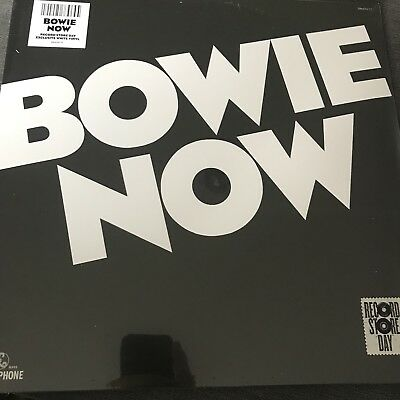 David Bowie - Now WHITE Vinyl LP - RECORD STORE DAY / RSD 2018 -- NEW AND SEALED • 13.89£