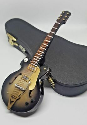 $ CDN26.15 • Buy Miniature 7  Electric Guitar With Stand & Case - Collectible Wood Guitar