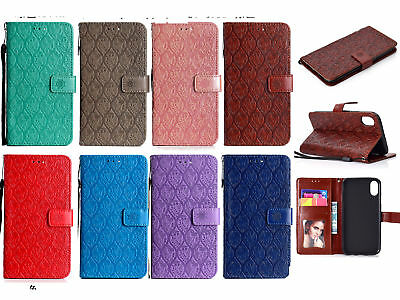 AU8.39 • Buy Wallet Strap Stand Flip Case Cover For Oppo R9S R11 R10 Vivo X20 Plus Cell Phone