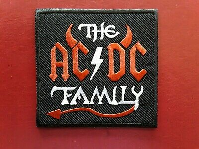 £3.15 • Buy Ac/dc Australian Heavy Metal Rock Pop Music Band Embroidered Patch Uk Seller