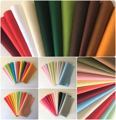 Wool Mix Felt Packs | Multiple Themes And Quantities | 22.5x11x0.1cm • 4£
