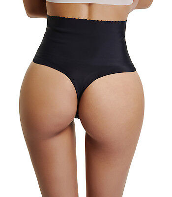 a76365a7b2552 Butt Lifter Hi-Waist Thong Panty Shapewear For Women With Tummy Control •  7.99