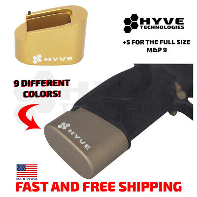 $36.99 • Buy Hyve Technologies Plus 5 Magazine Extension Base Pad For The S&W M&P 9 Mag +5