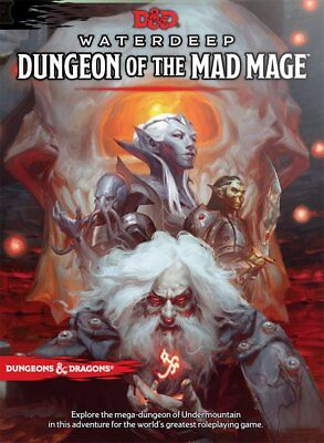 AU60.95 • Buy Dungeons & Dragons Waterdeep Dungeon Of The Mad Mage NEW