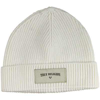 c18c48d0b32c7 True Religion Ribbed Knit Watchcap Hat (One Size Fits Most) • 59.95