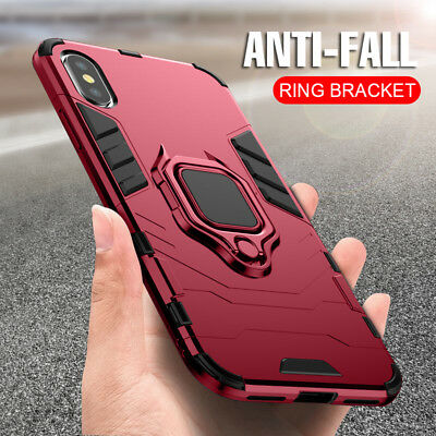 AU7.99 • Buy Armor Ring Case For Apple IPhone 11 Pro XS MAX XR XS X Shockproof Magnetic Cover