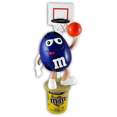 £25.52 • Buy  M&M's Dispenser BLUE Basketball  13 Inch , New With 125g Peanut Chocolate