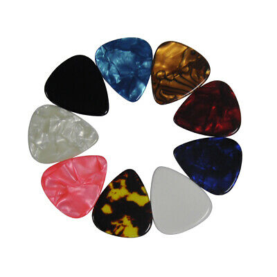 $ CDN19.33 • Buy Lots Of 100Pcs Heavy 1.5mm Guitar Picks Plectrums Celluloid For Electric Guitar