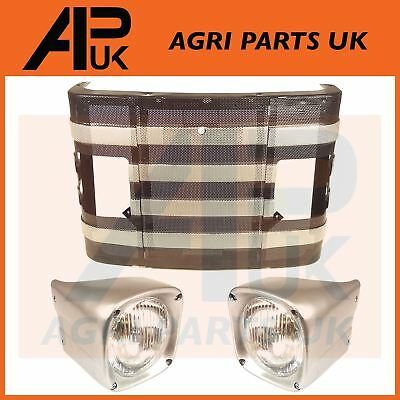 Massey Ferguson 135 148 Tractor 14  Front Grill Grille With Headlights Headlamps • 78.95£