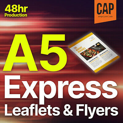 £69 • Buy A5 Leaflets & Flyer Colour Printing | 100, 250, 500, 1000, 2500, 5000 From £14