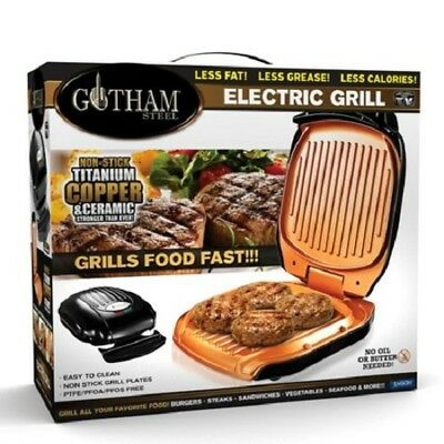 View Details Gotham Steel Low Fat Multipurpose Sandwich Grill With Nonstick Copper Coating! • 47.99$ CDN