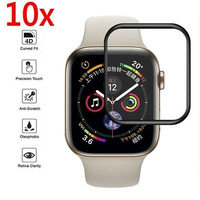 $ CDN5.16 • Buy Lot For Apple Watch Series 4 Full Cover Tempered Glass Screen Protector 40/44mm