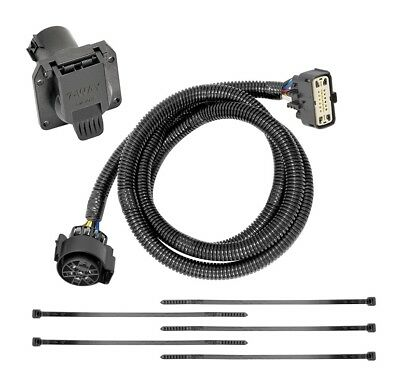$ CDN54.58 • Buy 7-Way RV Trailer Wiring Harness Kit For 18-19 Buick Enclave 18-20 Chevy Traverse
