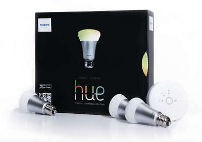 AU110.92 • Buy Philips HUE A19 Starter Kit