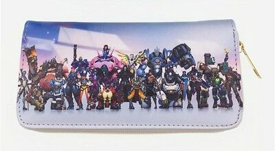 AU32.95 • Buy Overwatch Purse Wallet Handbag Womens Mens PC Gaming PS4 Xbox Blizzard OW FPS OZ