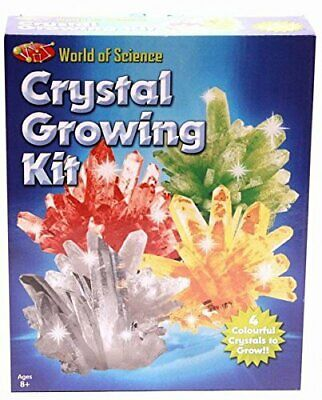 AU22 • Buy NEW Crystal Growing Kit | Kids Educational Craft Activity Toys | IhartTOYS