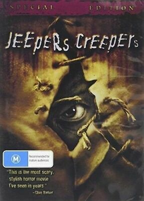 AU9.95 • Buy Jeepers Creepers 1 DVD New Sealed Australian Release