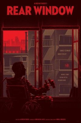 £538.91 • Buy Rear Window By Kevin Tong - Variant - Rare Sold Out Mondo Print