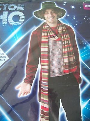 £21 • Buy  Dr Who  THE 4th DOCTOR    Tom Baker Adult Mens Fancy Dress Costume SIZE  STD
