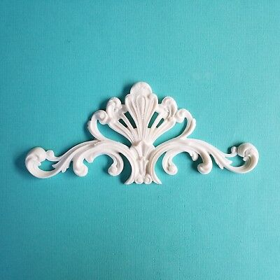 AU11.45 • Buy 1x Shabby Chic  Wreath Furniture Applique Onlay Decorative Appliques