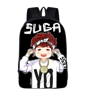$35 • Buy BTS Backpack Hip Hop Teenagers School Bag  EXO BAP Shoulder Bag