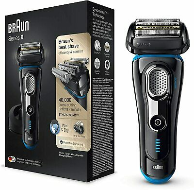 AU445.64 • Buy Braun Series 9 9242s  Electric Shaver For Men With Charging Stand + Travel Case