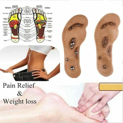 $ CDN13.05 • Buy MindInSole Acupressure Magnetic Massage Foot Therapy Silicone Insole Pain Relief