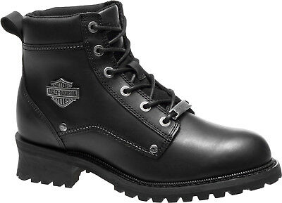 $ CDN103.93 • Buy Harley-Davidson® Men's Bozeman Black Leather Motorcycle Boots D96156
