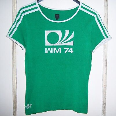 Vintage Tee-shritfemme Adidas Logo Imprimewest Germany74 Taille : 38. • 36.03£