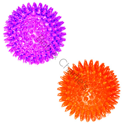 £8.09 • Buy Rosewood Rubber Ball Dog Toy  Jolly Dog Dental Spikey Spiky Fetch Bounce Ball