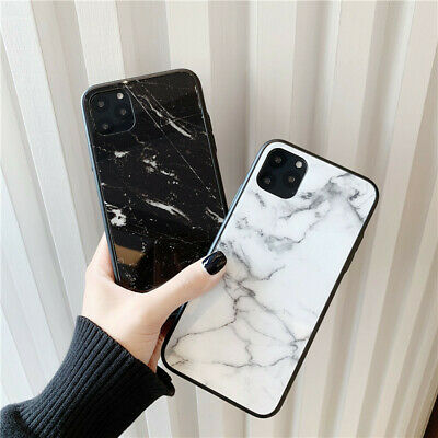 AU9.95 • Buy For IPhone XR X 8 Plus SE 7 Case Ultra Thin Marble Tempered Glass Back Cover