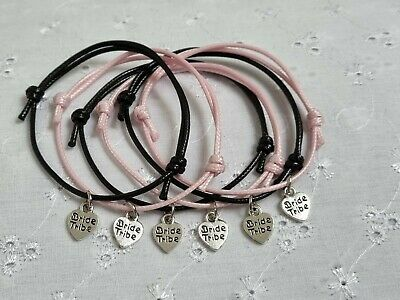 BRIDE TRIBE HEN PARTY DO BRACELETS FAVOURS GIFT Choose 1 6 7 8 9 10 12 14 15 • 1£