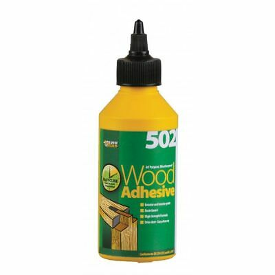 Everbuild Wood Glue 250ML  - All Purpose Waterproof PVA Wood High Strength 502  • 5.99£