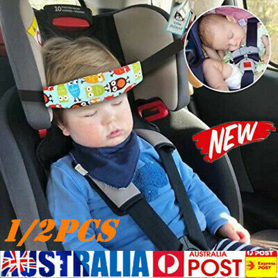 AU9.49 • Buy Baby Car Seat Headrest Sleeping Head Rest Support Kids Sleep Holder Belt Strap