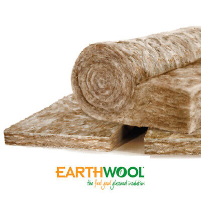£302 • Buy Earthwool Knauf Loft Insulation 200mm 12 Roll Deal (71m2) Delivered Nationally