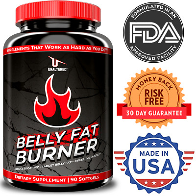 $23.99 • Buy Belly Fat Burner Pills - Top Stomach Weight Loss Supplement - Keto Diet Friendly