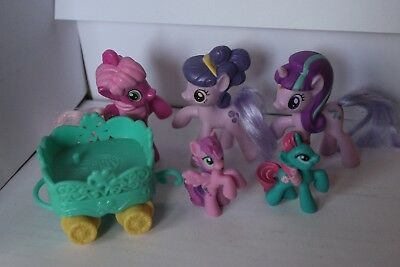 My Little Pony Set With Small Carriage All In Very Good Condition • 8.48£