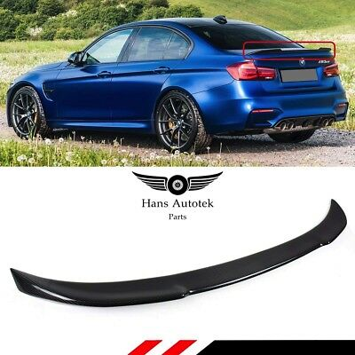 AU229.95 • Buy CS Style FULL Dry Carbon Rear Spoiler Boot FOR BMW F80 M3 3 Series F30 SEDAN