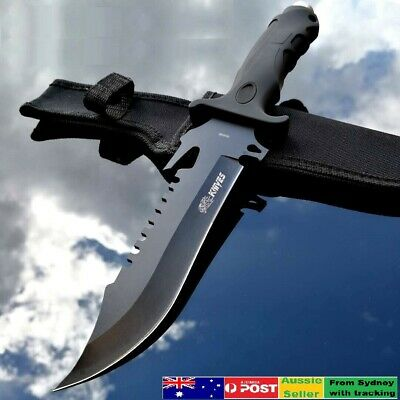 AU29.50 • Buy Sharp Outdoor Camping Tactical Razor Bowie Knife Survival Tool Sticker